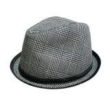 검사된 디자인 (JRX003)를 가진 중절모 모자