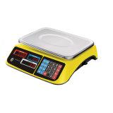 색깔 전자 Commecial 백색 노란 가격 계산 가늠자 (DH-605)