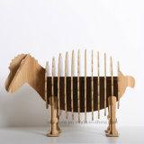 خشبيّة حرفات فنّ تجهزات حيوانيّ صغيرة خروف فندق زخرفة
