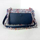 Handtassen van het Leer van Dame PU Geweven Ketting van de Stijl van de manier de Mini (nmdk-032904)