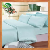 대나무 섬유 침대 시트 누비이불 베개 덮개 침구 세트