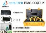 Câmera do IR da inspeção da tubulação de DVR com função do teclado e transmissor 512Hz
