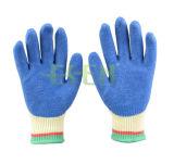 Gants de nitrile bon marché protecteurs à sécurité antidérapante Palm / Gants de travail revêtus