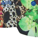 Herrliches buntes weiches Pflanze-und-Blumen Muster Longsleeve Drehen-Unten Muffen-Form-Dame-Bluse
