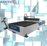 Cortador do laser da fibra de Promotion/500/700/1000/1500/2000W do grupo de Han