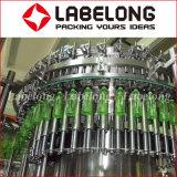 Máquina de rellenar del animal doméstico 3 in-1 de botellas del cristal de cerveza del agua automática de alta velocidad de la botella
