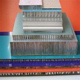 El panel de emparedado de aluminio de la pared de cortina de la base de panal (HR487)