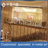 Leuning van de Balustrade van de Trap van het Roestvrij staal van het Ontwerp van de Vervaardiging van de fabriek de Speciale