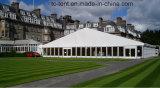 Большие 25*50m затавренные смешанные шатры для партии и случаев с шатрами ясно Windows партии