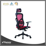 Soporte lumbar de Wth de la silla de la oficina y asiento superiores de la inclinación con el resbalador del bloqueo y del asiento