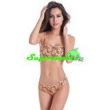Schulter-Art-heißer Bikini für Frauen