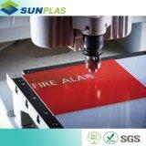 folha de 600 ABS de *1200mm para Printng e gravura