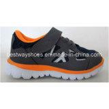 Chaussures causales de chaussures de gosses de chaussures colorées de sports