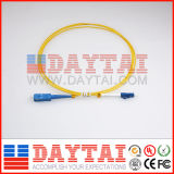 1.5m 단순한 Sc/Upc-LC/Upc 2.0mm PVC 접속 코드