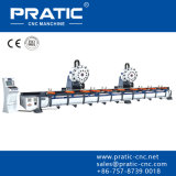 Centro-Pza que trabaja a máquina que muele del corte de acero del CNC