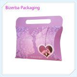 Pacchetto del cuscino del contenitore di regalo della scheda