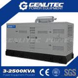 Diesel Soundproof do gerador de potência de Genset 320kw 400kVA Cummins da terra (GPC400S)