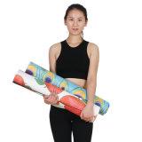 Commercio all'ingrosso di gomma della stuoia di yoga dell'albero naturale superiore della pelle scamosciata della stuoia di yoga di Pilates