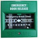 Versione di vetro Sagreen del portello della rottura Emergency di colore verde