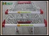 Mjy 60b PU 60 리터 예산 슈퍼마켓 트롤리