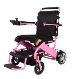Psto pela cadeira de rodas elétrica da bateria de lítio por Ar
