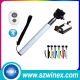 Newest Draadloze  Neem Pole Selfie Stick met het Handvat Van uitstekende kwaliteit