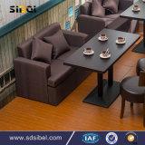 Vectores y sillas de cena de los muebles del restaurante del enchufe de fábrica
