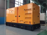 комплект генератора 300kw/375kVA Doosan тепловозный с звукоизоляционным приложением сени