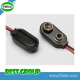 Célula impermeable del botón del sostenedor de batería del sostenedor de batería de 3 AAA para 6V