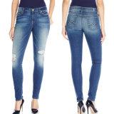 2017 Frauen-Form-Denim-Jeans-dünne Jeans-Hosen