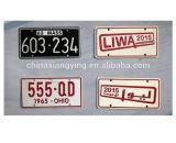 Mini matériau en aluminium de plaque décorative de véhicule pour la plaque décorative r3fléchissante de véhicule