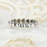 Moda Anéis Jóias Mulheres Anéis de Ouro Branco Sem Pedras Anel