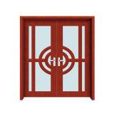 Porte en bois de toilette de PVC de bois de construction de Chambre de Chambre de plans