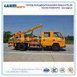 Träger-Leitschiene-Installations-LKW der Datenbahn-W mit hydraulischem Zubehör für Verkauf