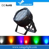 棒およびナイトクラブの装飾12PCS 18W IP 65 LEDの同価ライト