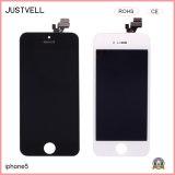 Schermo di tocco del telefono mobile per la visualizzazione dell'affissione a cristalli liquidi di iPhone 5