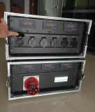 Rectángulo de interruptor de fuente eléctrica de 3 fases