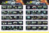 Het Licht van de LEIDENE Koepel van de Auto voor Delica 05 Elgrand Hiance Prius