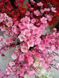 Il fiore di seta comodo della decorazione del fiore della pesca Nizza