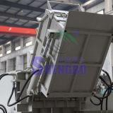 De horizontale Pers van het Briketteren van de Knipsels van het Metaal van de Snelheid voor Recycling