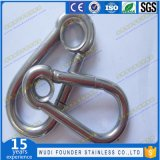 Crochet instantané Carabiner de l'acier inoxydable DIN5299 Carabiner