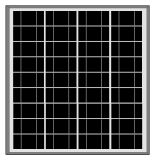 [60و-75و] [سلر بنل] مبلمرة لأنّ [ستريت ليغت] شمسيّة