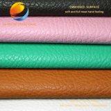 Sofa-Leder mit geprägter Oberfläche Flf17f28W