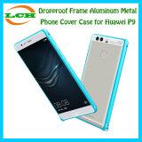 Cas en aluminium de couverture de téléphone en métal de bâti de Dropproof pour Huawei
