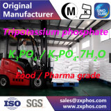 Produto comestível do fosfato do Tripotassium