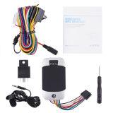 Perseguidor del GPS de la motocicleta y del coche con el monitor de la voz y el sensor del combustible