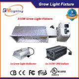 le ballast de 315W Digitals CMH/HPS hydroponique élèvent l'appareil d'éclairage avec le réflecteur en aluminium