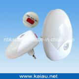 Вертикальный свет датчика штепсельной вилки СИД