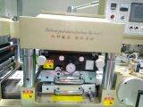 Etiqueta de superficie plana máquina troqueladora con la bola de nieve Tipo de residuo rebobinador