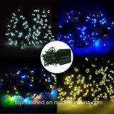 dekoratives LED Zeichenkette-Licht des 12m Längen-im Freiengarten-
